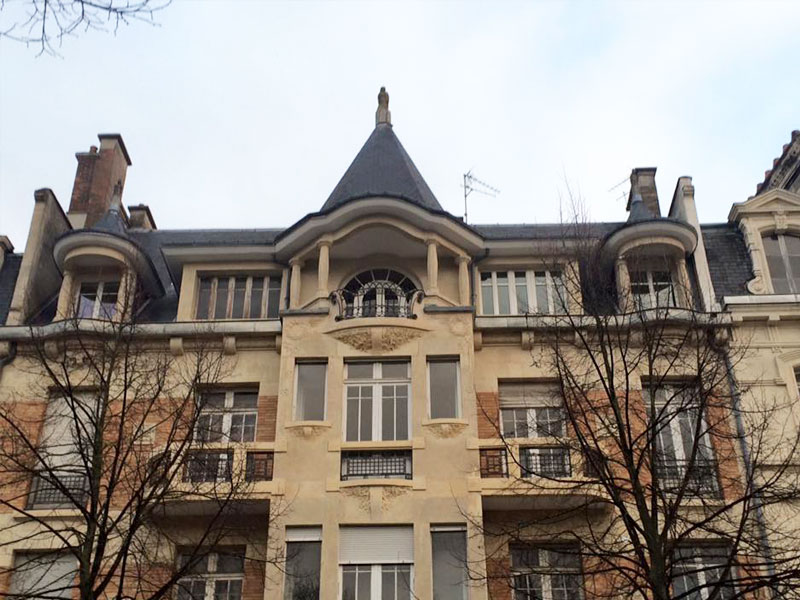 Travaux façade extérieure - Les Compagnons Peintres Champenois